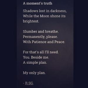 Poem by me.