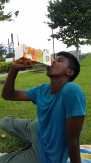 Nephew and his thirst