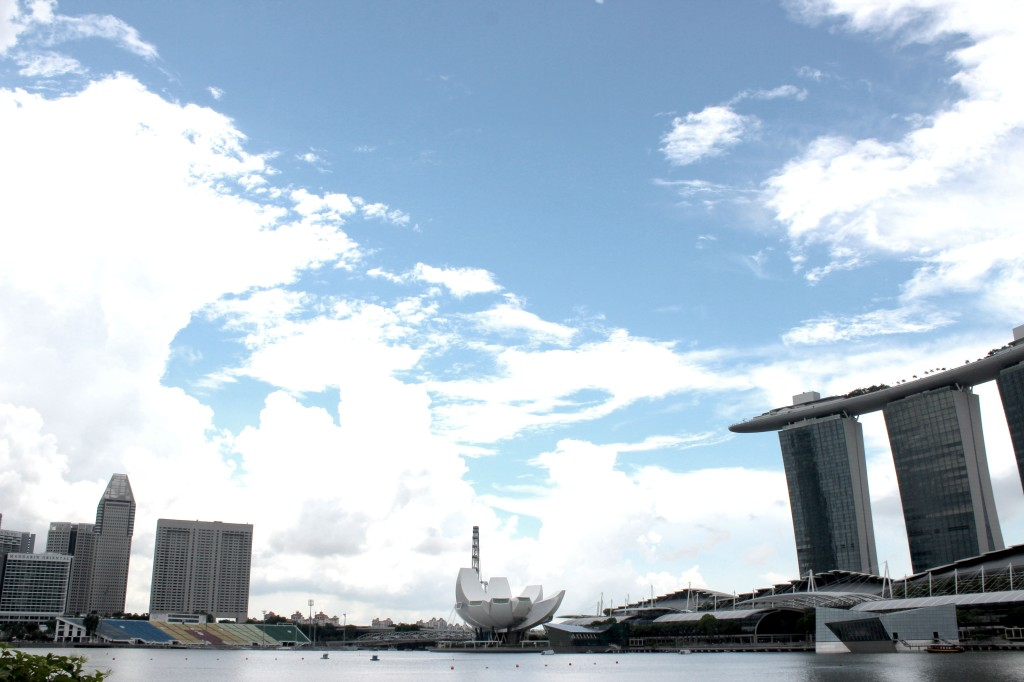 Image of Marina Bay Sands Skyline
