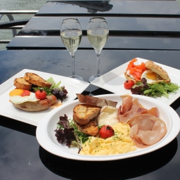 Brunch with Singapore's Best City Skyline in view, Marina Bay Sands