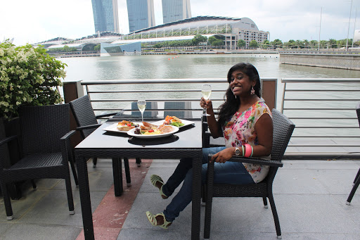 Brunch with Singapore's Best City Skyline, Marina Bay Sands